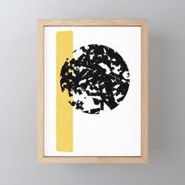 Abstract Moon #society6 #abstractart Framed Mini Art Print