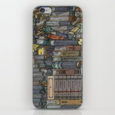 Closed Books iPhone & iPod Skin