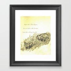 The Chase Framed Art Print