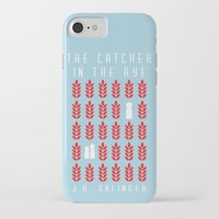 catcher in the rye iPhone & iPod Cases featuring The Catcher in the Rye by BaconFactory
