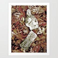 The Fall of Faith Art Print