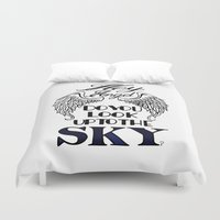 larry Duvet Covers featuring Hey Angel (Larry Stylinson) by Arabella