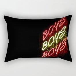 Boys Boys Boys Rectangular Pillow