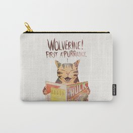WOLVERINE! FISRT A'PURR'ANCE! Carry-All Pouch