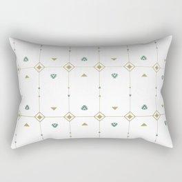 Jazzy Okami Pattern Rectangular Pillow