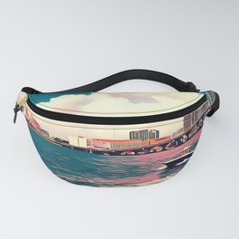 Miami - Art Fanny Pack