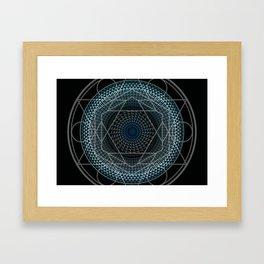 Portal in Consciousness Framed Art Print