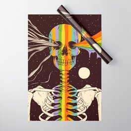 Dark Side of Existence Wrapping Paper