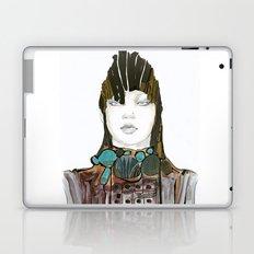 Warrior fashion portrait Laptop & iPad Skin