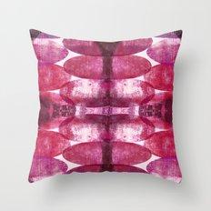 Beth pink Throw Pillow