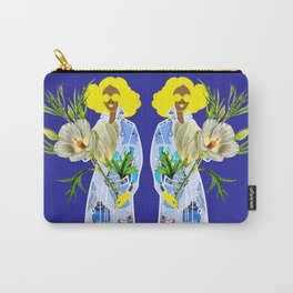Faces on Her Dress Carry-All Pouch