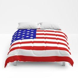 Original American flag Comforters