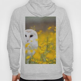 Little Owlet in Flowers (Color) Hoody