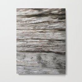 wood pattern Metal Print