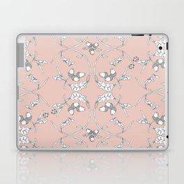 Acorns and ladybugs pink pattern Laptop & iPad Skin
