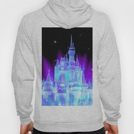 Enchanted Castle Turquoise Purple Hoody