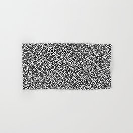 wall art K.Haring Hand & Bath Towel