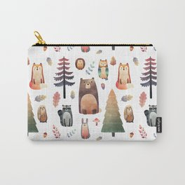 forest friends Carry-All Pouch