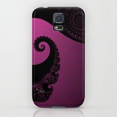 Pink and Black Fractal Galaxy S5 Slim Case