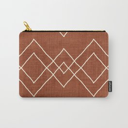 Nudo in Rust Carry-All Pouch
