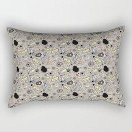 """Cells and bacteria's party"" vol 2 Rectangular Pillow"