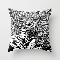 The illustrator Throw Pillow