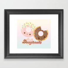 Sweet Doughnuts Framed Art Print