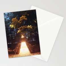 Light of the Teepee Stationery Cards