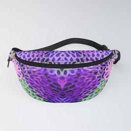 Purple Glow Fanny Pack