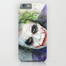 The Joker Watercolor Slim Case iPhone 6