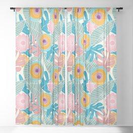 My Mystery Garden Sheer Curtain
