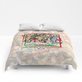 Swim Beyond Misconceptions - Happy Holidays! Comforters