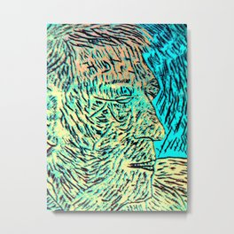 Hockney-eat your heart out. Metal Print