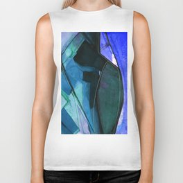 Abstraction 317I by Kathy Morton Stanion Biker Tank