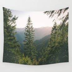 Forest XV Wall Tapestry