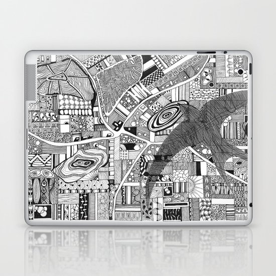 Fly Above Laptop & iPad Skin