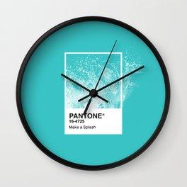 PANTONE SERIES – SPLASH Wall Clock