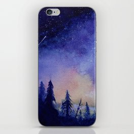 The Blue Hour iPhone Skin
