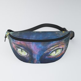 They Meet in the Night (Cats) Fanny Pack