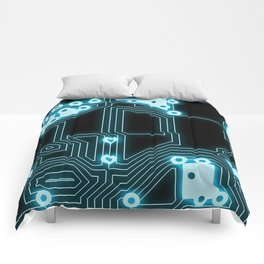 Circuit Pattern Comforters