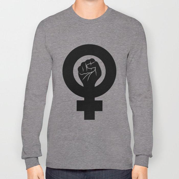 Feminist Symbol Long Sleeve T-shirt