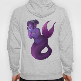Purple Mermaid Hoody