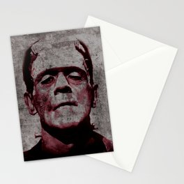 Frankenstein Art Print, Frankenstein, Frankenstein Print, Halloween Decor, Frankenstein Art, Horror Poster, Boris Karloff, Movie Art, Frankenstein Monster, Creepy, Fun, Hip, Cool, Odd, Gift, Monster Stationery Cards