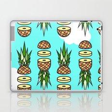 Eat pineapples Laptop & iPad Skin
