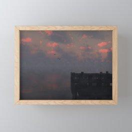 Morning Run (Cloud series #14) Framed Mini Art Print