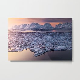 Sunset from Norway Metal Print