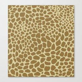 Giraffe Print Canvas Print
