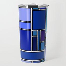 50 shades of blue Travel Mug