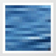 Nature Pixels - No.10 Art Print