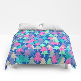 Colorful fir pattern II Comforters